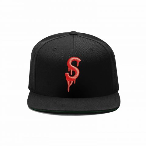 Saucey Hat with Red Logo